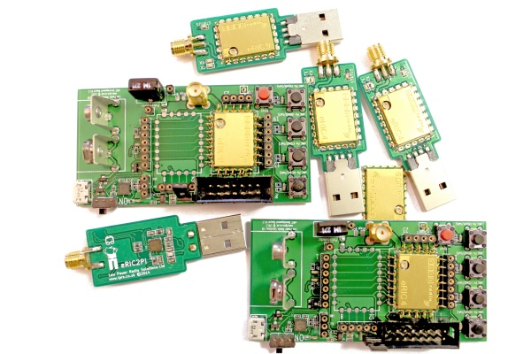 easyRadio Evaluation & Development Kit's