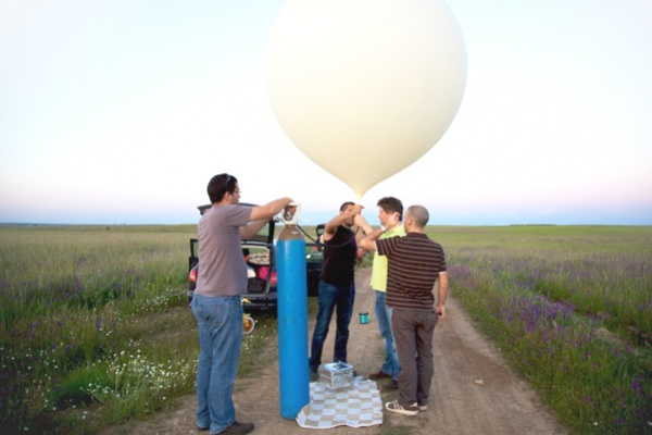 Near Space Balloon Flight
